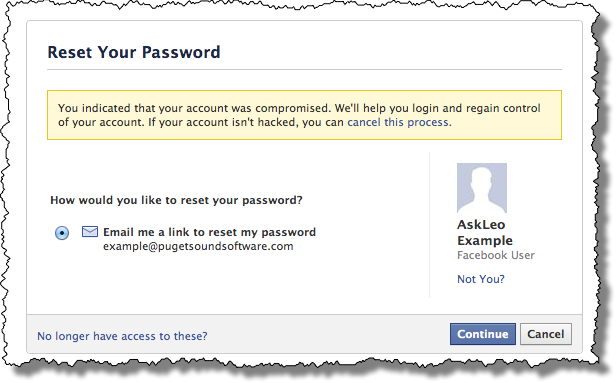 How May i Reset FaceBook Password With My old Password?