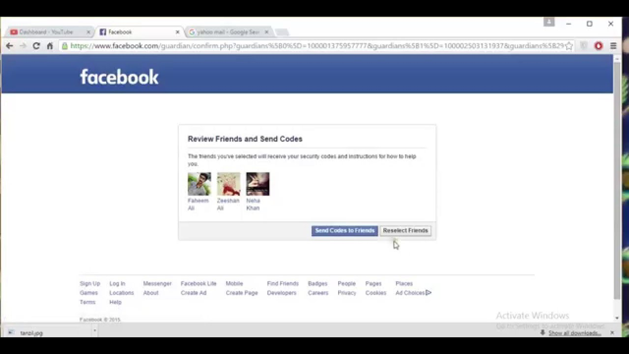 Recover facebook password without resetting