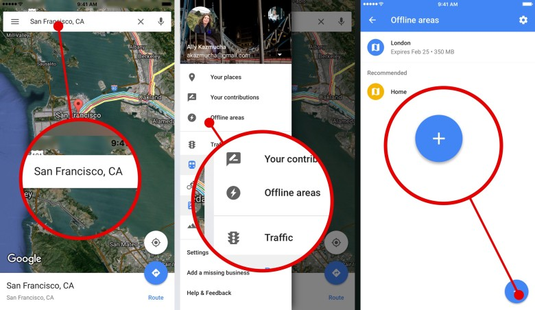 How To Use Map How To use Google Maps offline iphone?